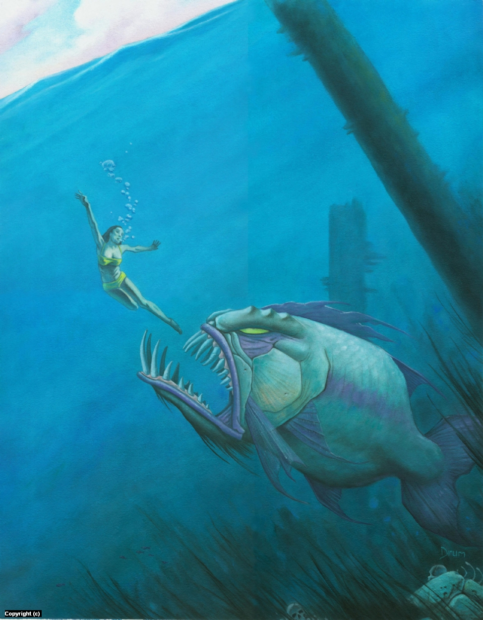 Big Fish Artwork by Stacy Drum