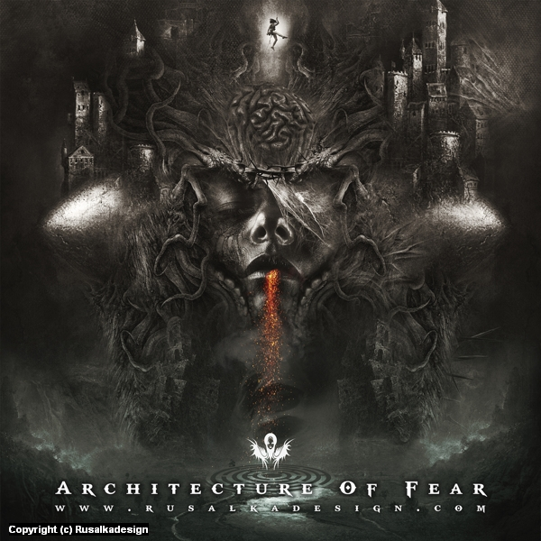 Architecture Of Fear Artwork by Ludovic Cordelières