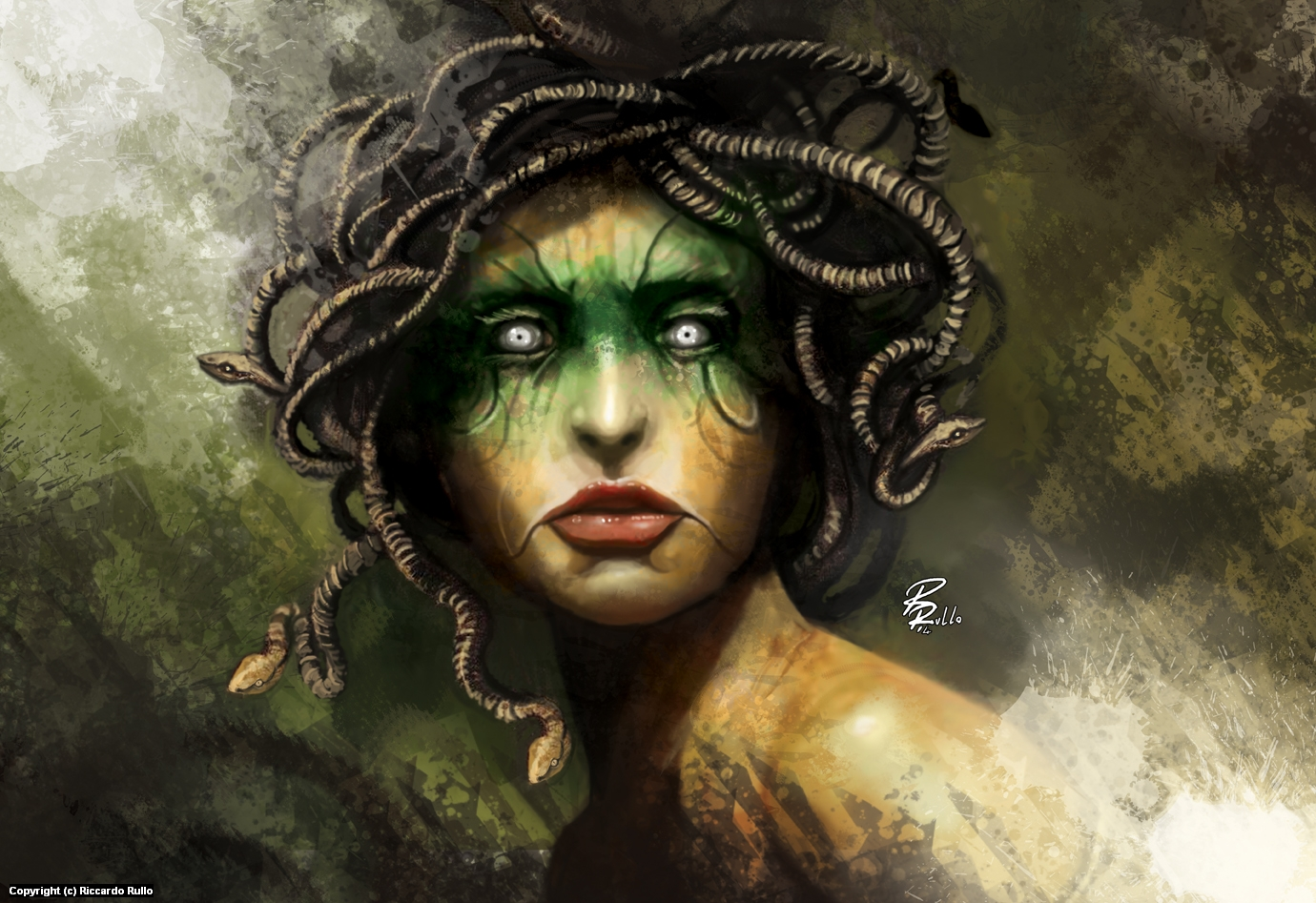 Medusa Artwork by Riccardo Rullo