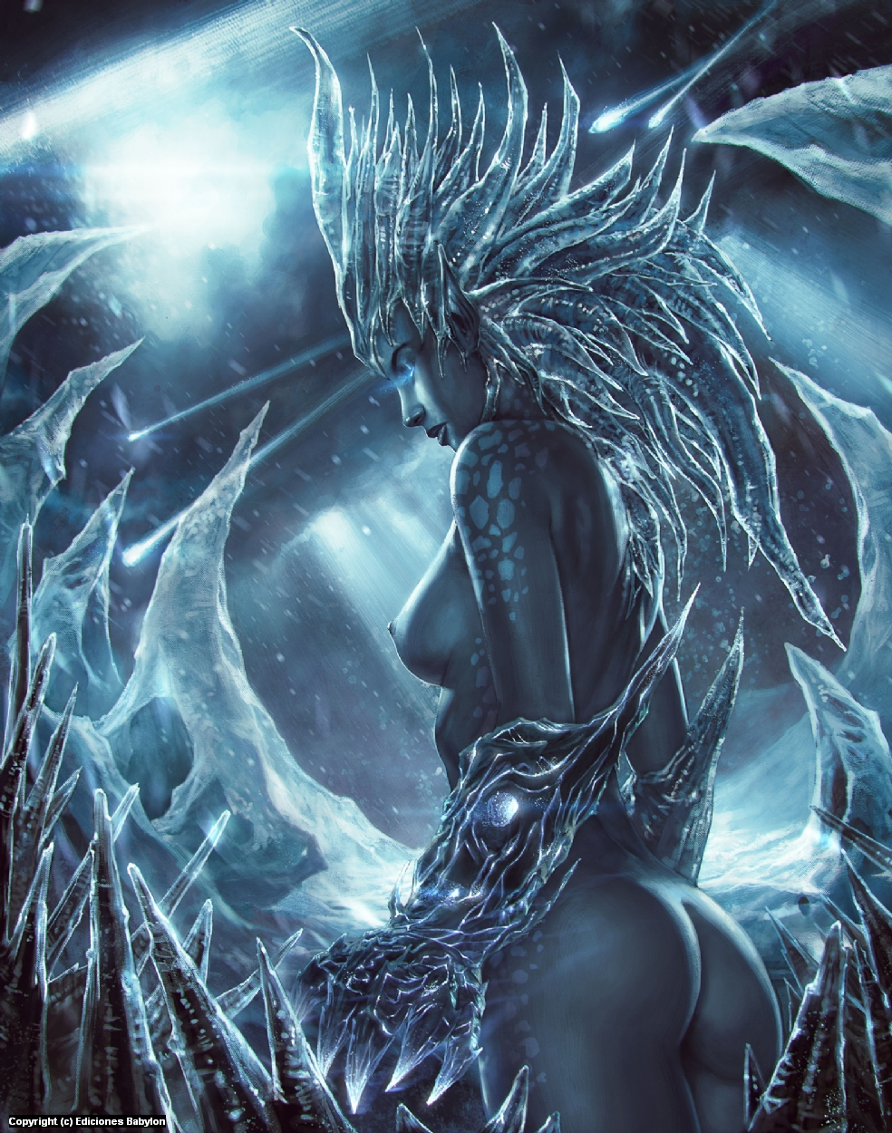 Ice Queen Artwork by Rafater