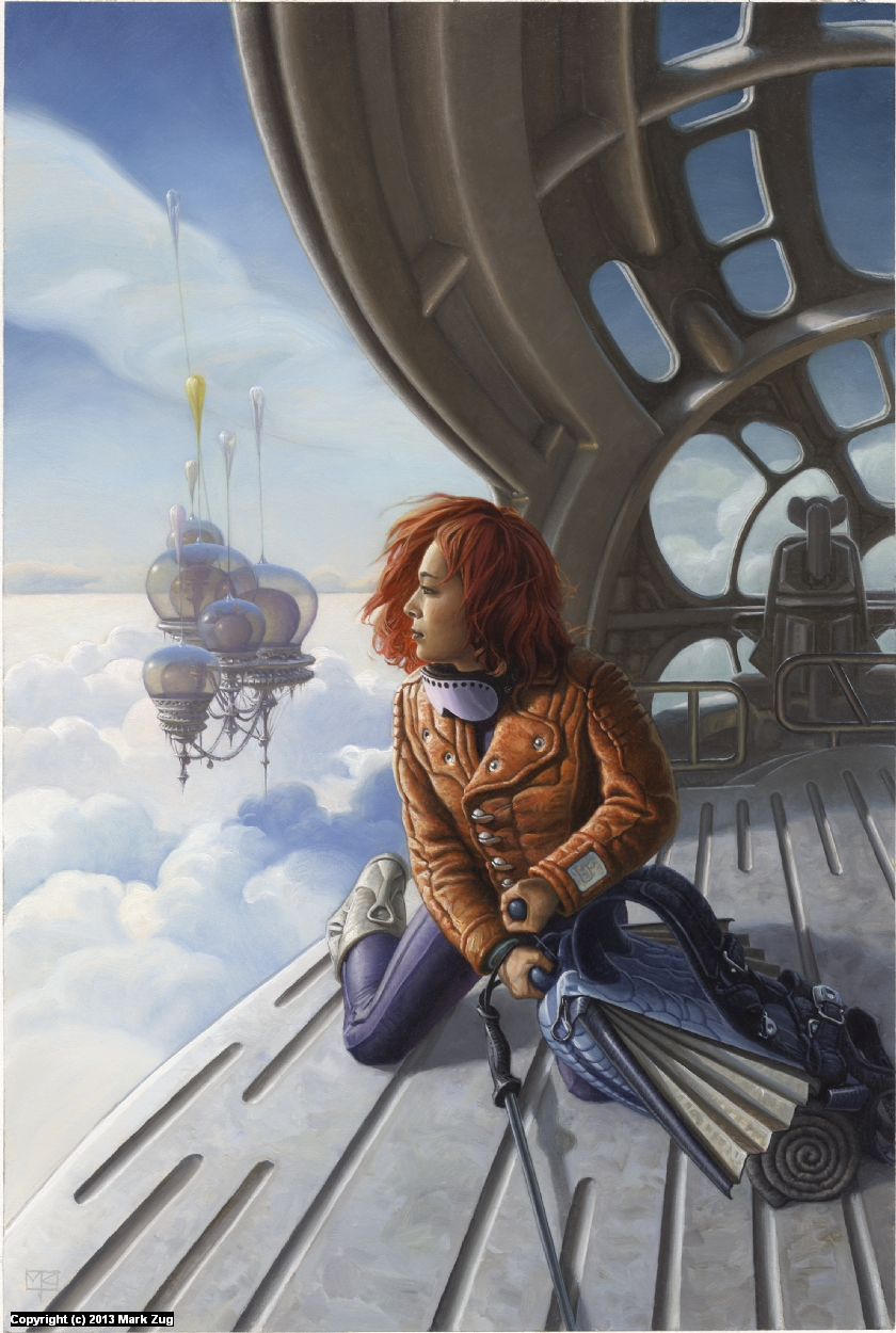 The Silver Domes Artwork by Mark Zug