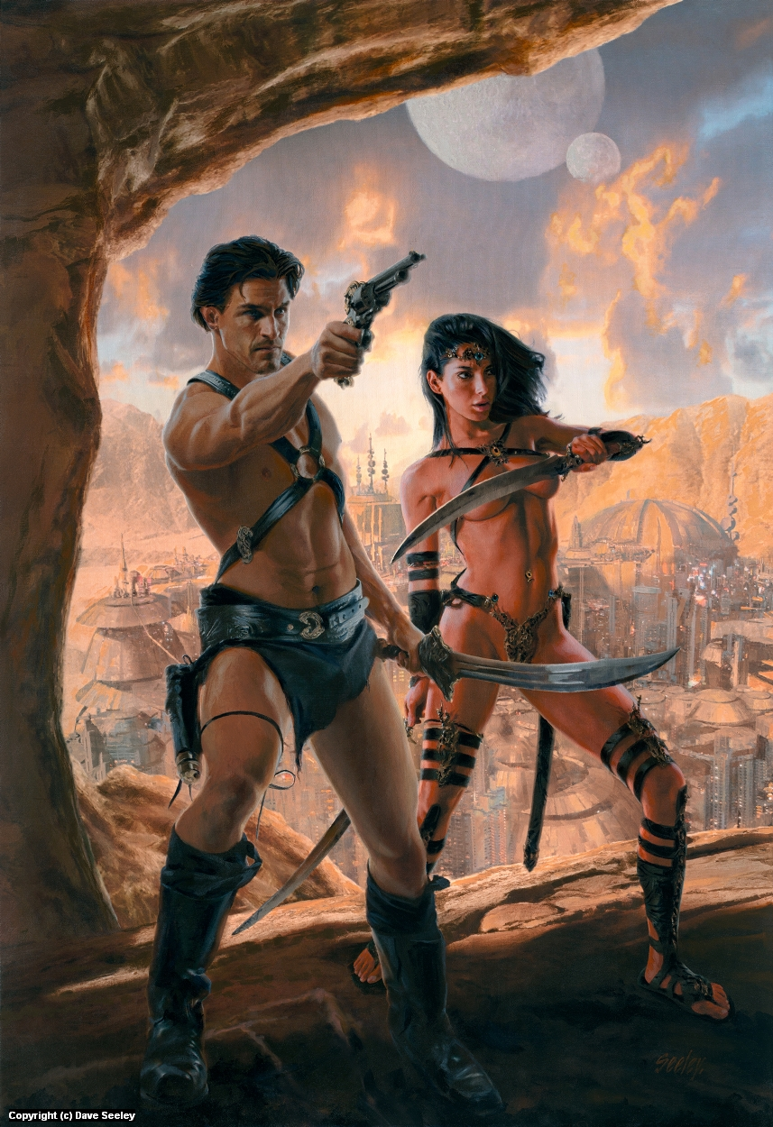 John Carter and the Princess of Mars Artwork by Dave Seeley