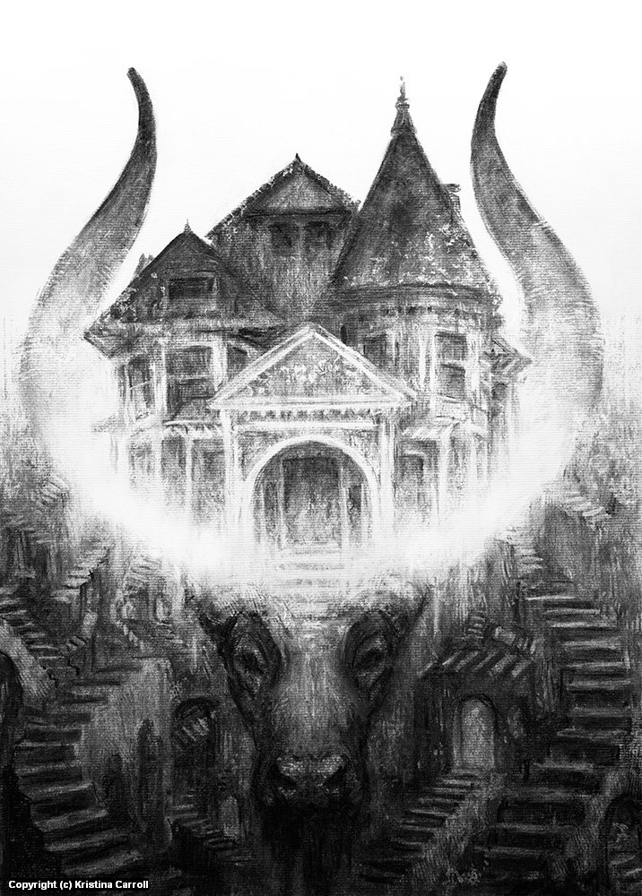 House of Leaves Artwork by Kristina Carroll
