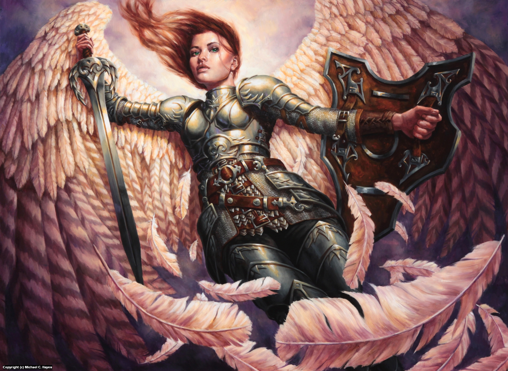 Angelic Accord Artwork by Michael C. Hayes