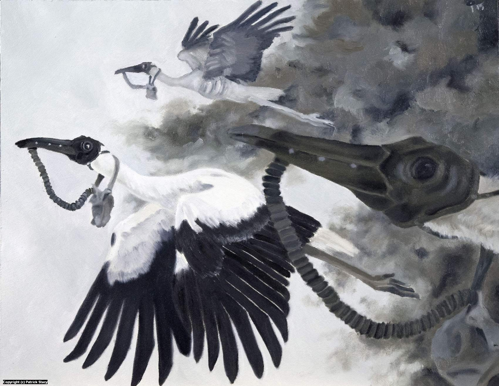 Flying Blind Artwork by Patrick Stacy