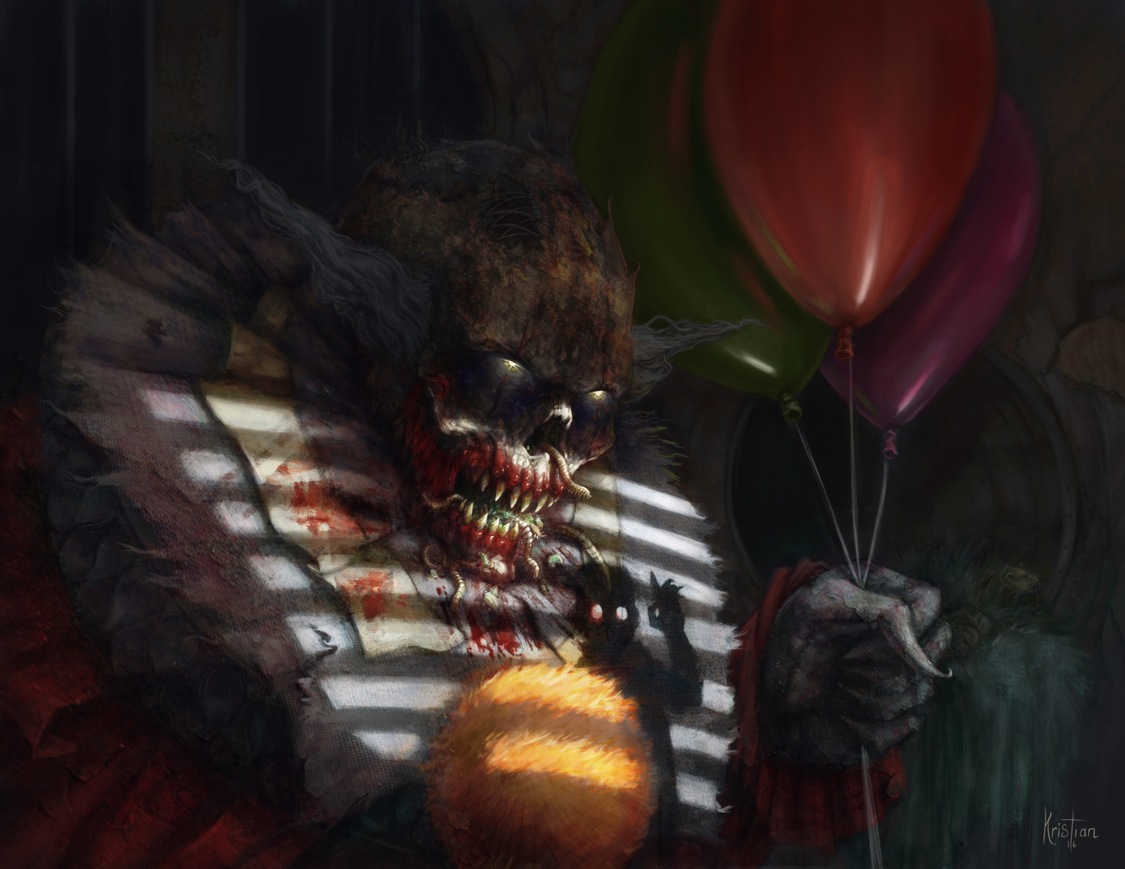 We All Float Down Here Artwork by Jeff Kristian