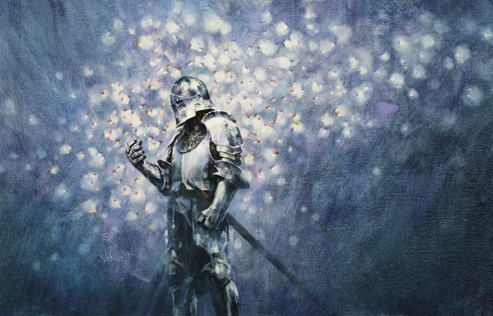 Knight Lights Artwork by Eric Velhagen