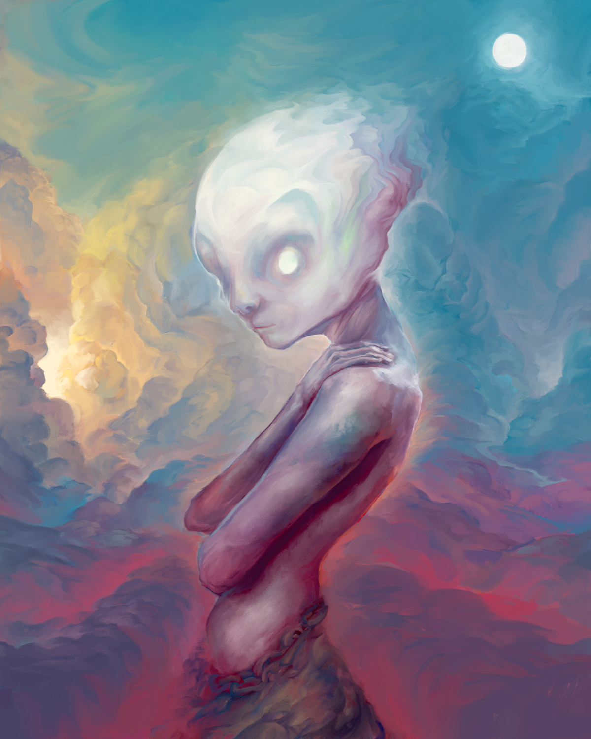 Moon Child Artwork by Maxwell Crabill