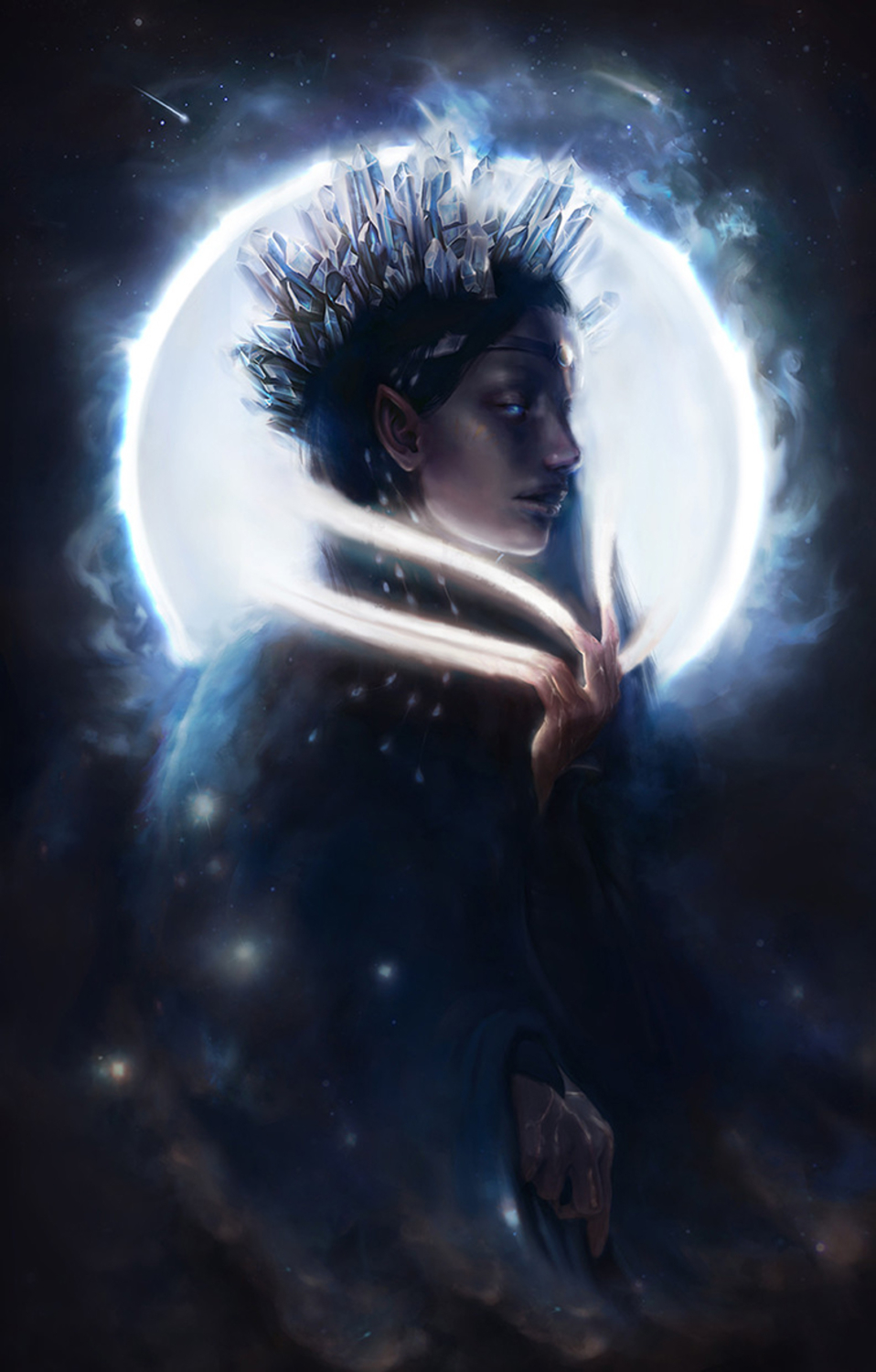 Varda, Queen of the Starrs Artwork by Dymond Starr Boutte'