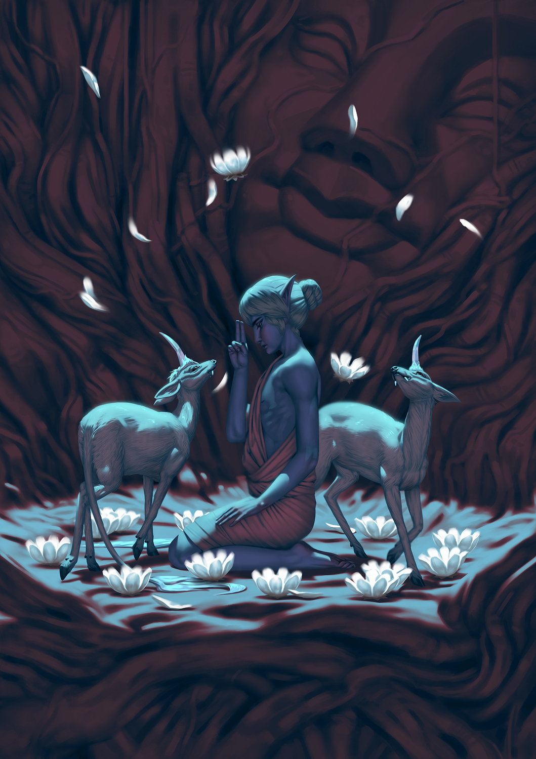 Virtues Series: Purity Artwork by Candice Broersma