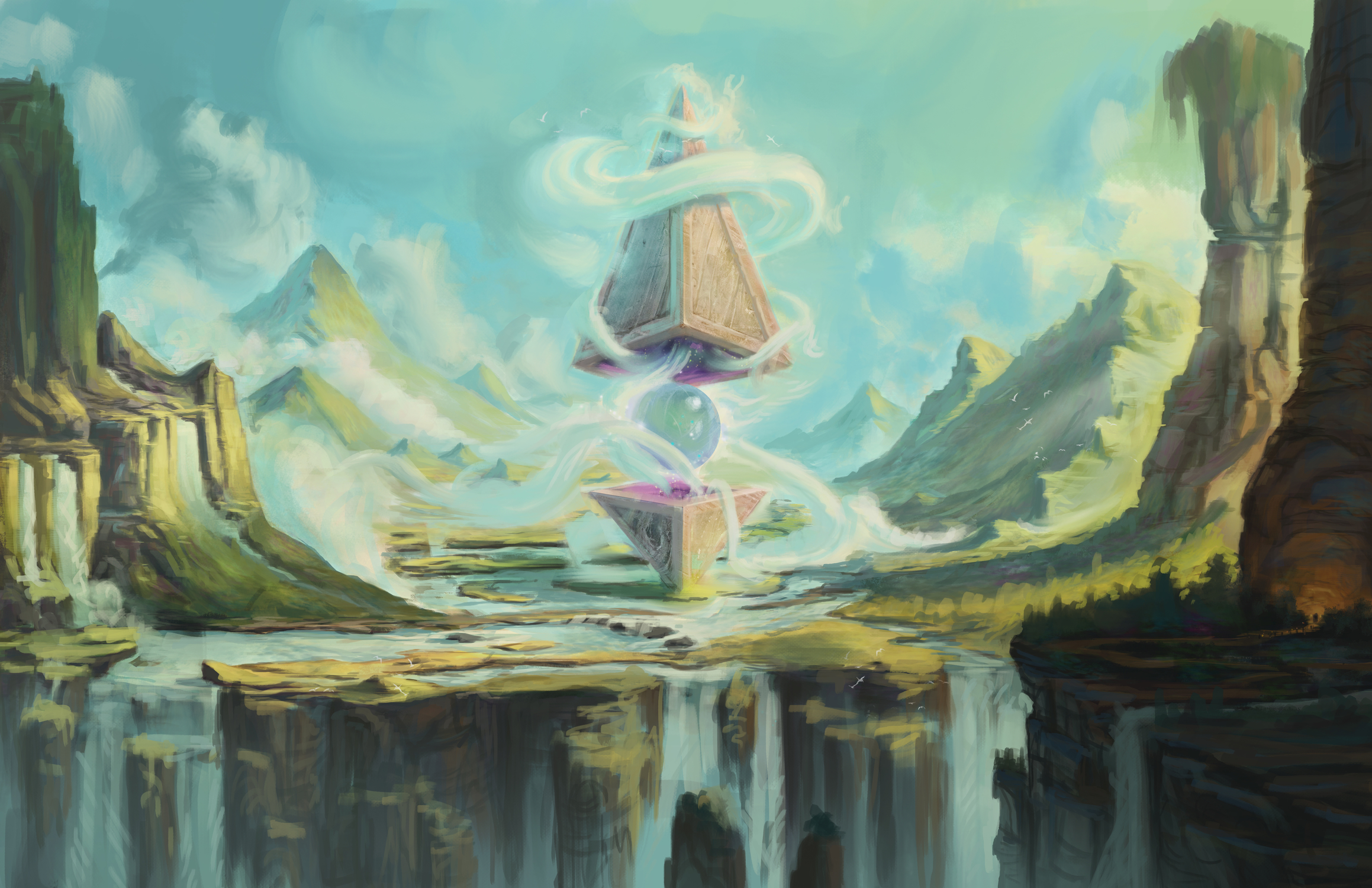 Temple of Air Artwork by chase henson