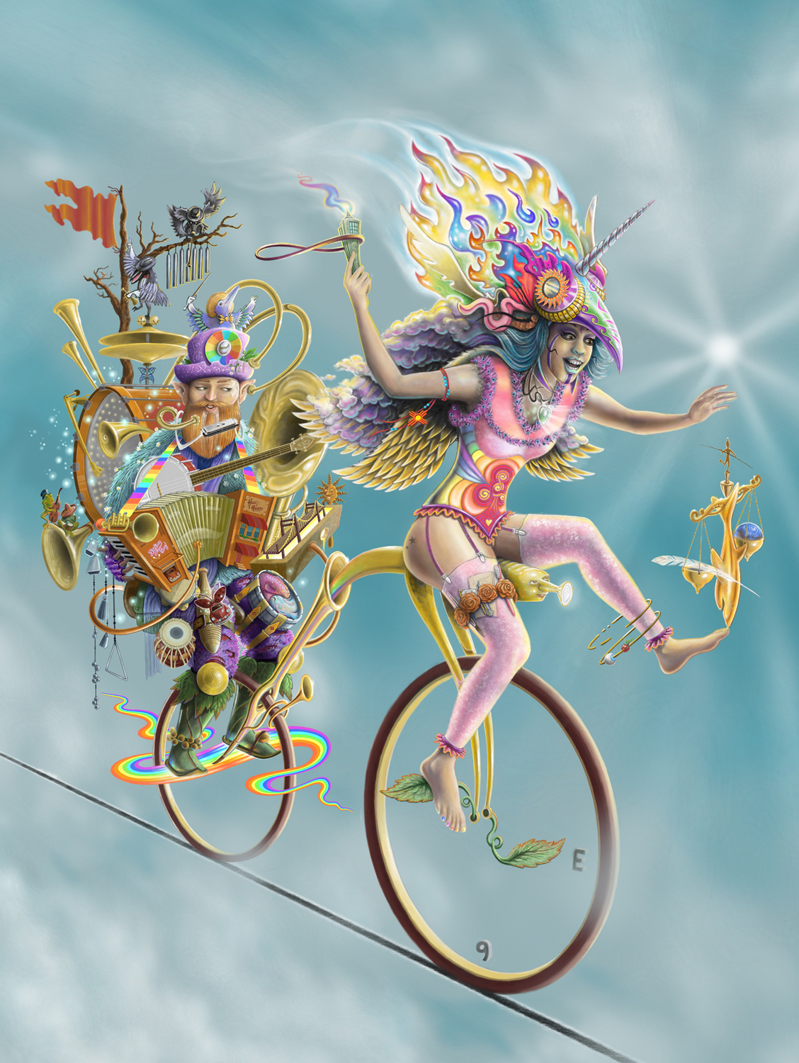 Muse Cycle Life Artwork by Joshua Levin