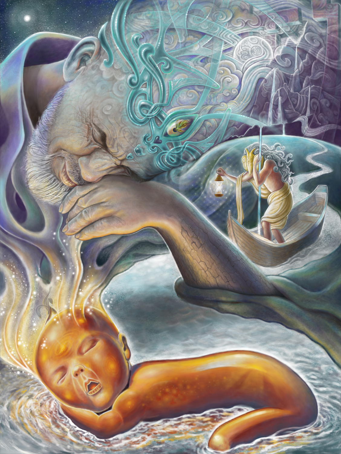 The Dreaming Artwork by Joshua Levin