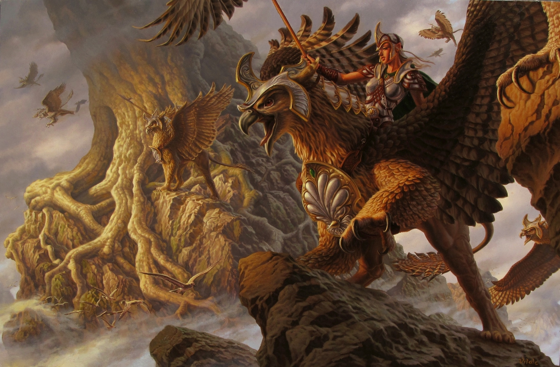 Torin's Quest Artwork by raoul vitale