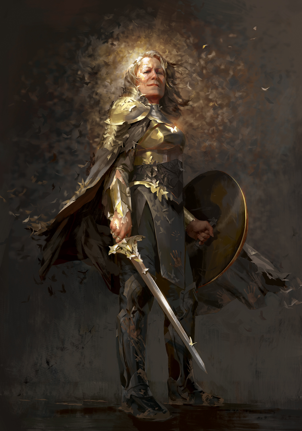 The Butterfly Knight Artwork by Cassandre Bolan