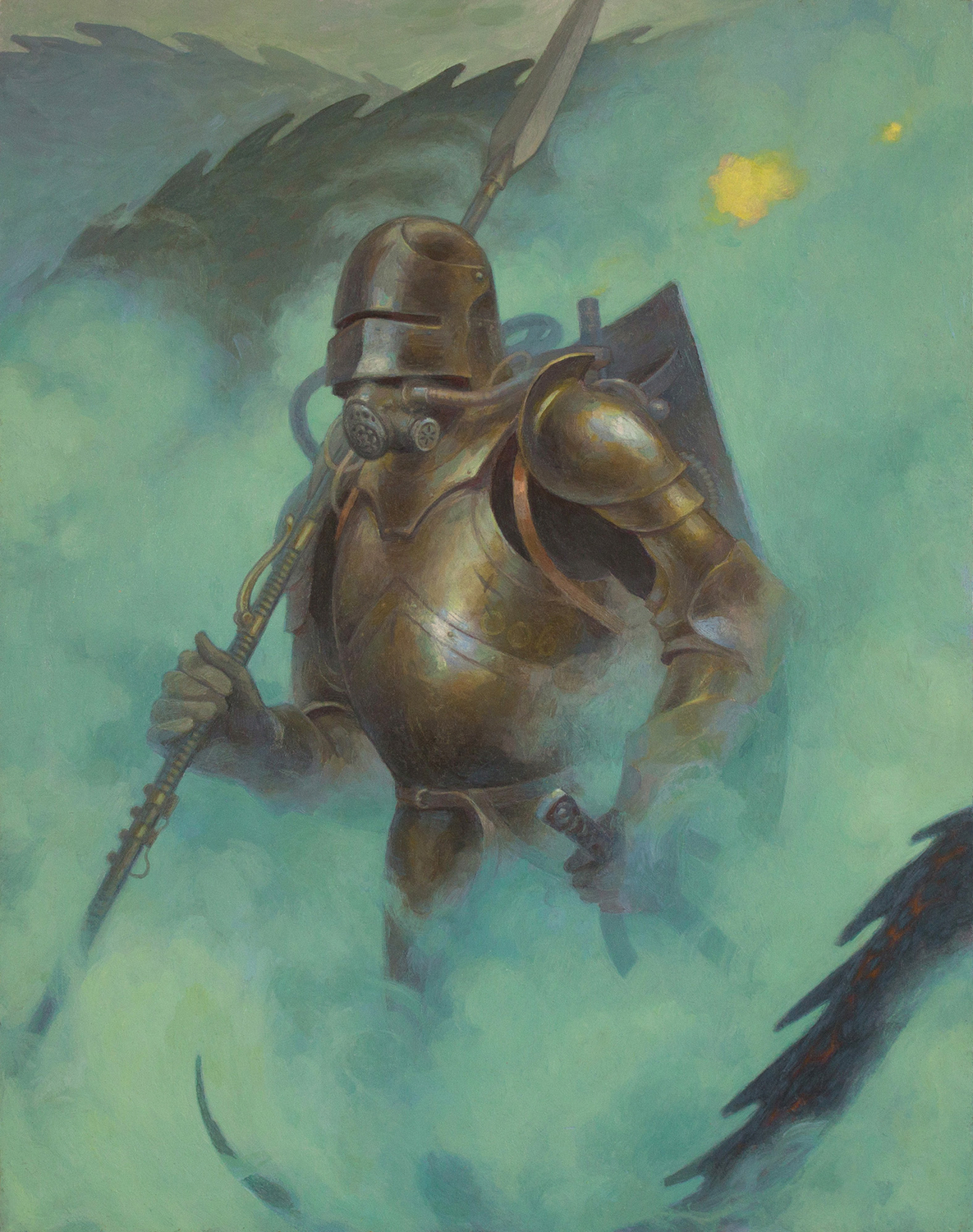 The 6th Knight Artwork by jessica shirley
