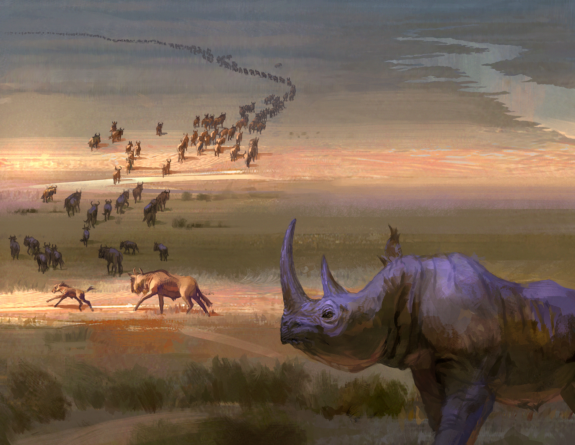 Northern Migration Artwork by Brian C Hailes