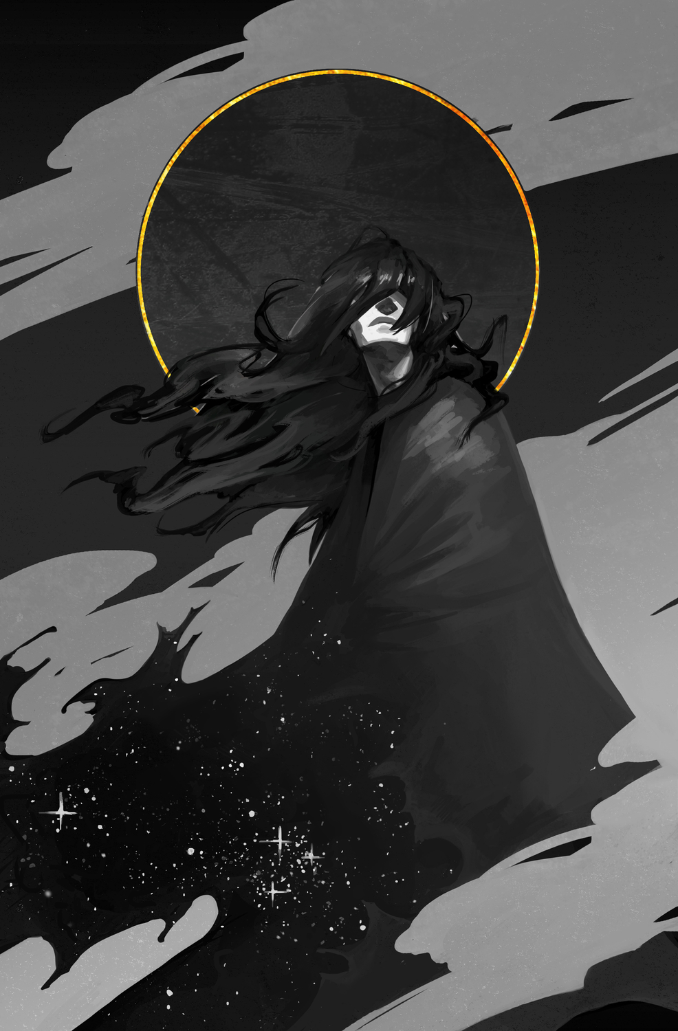 The Star Eater Artwork by Laura Galli