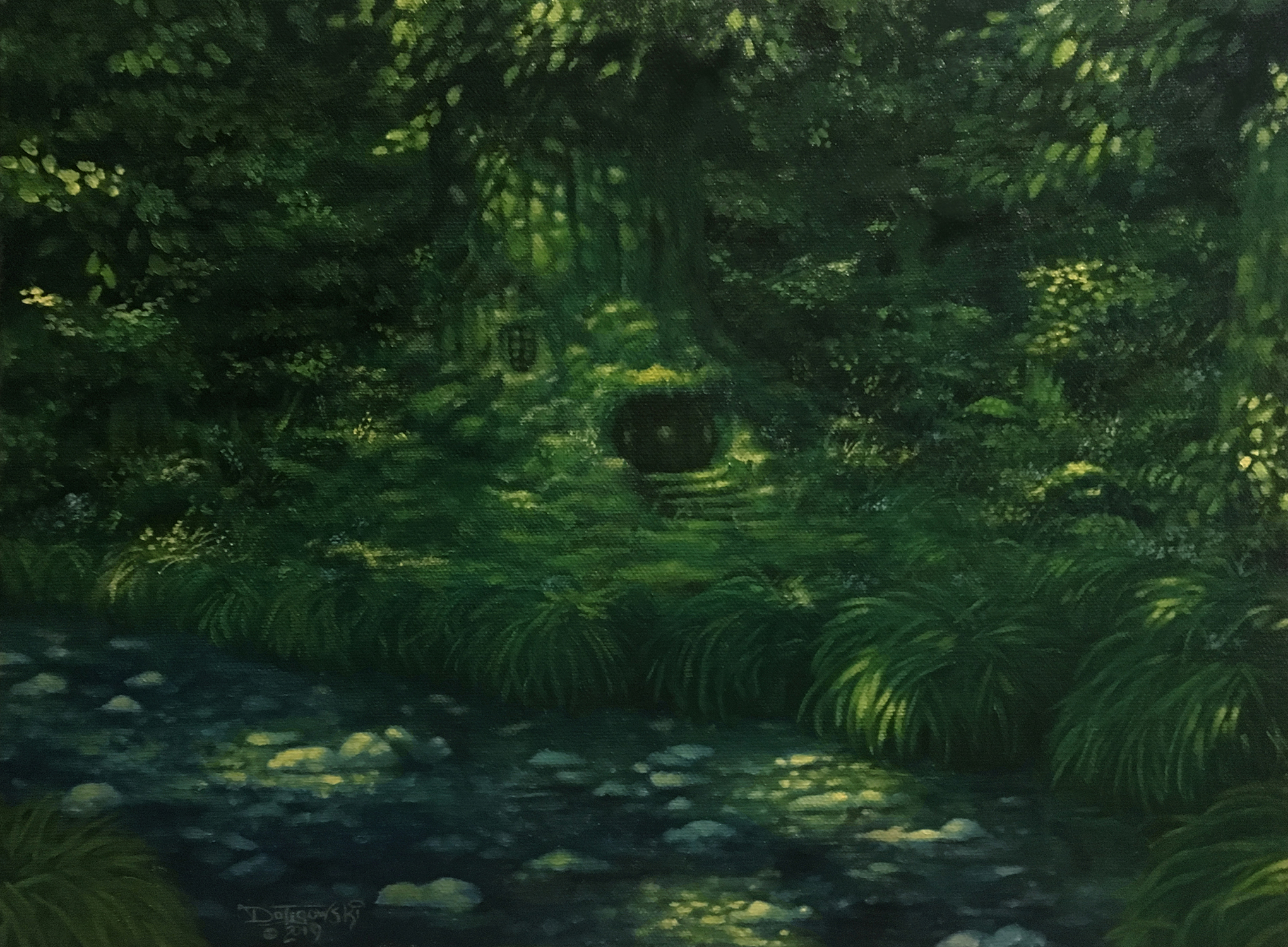 Hole in the Woods Artwork by John Dotegowski
