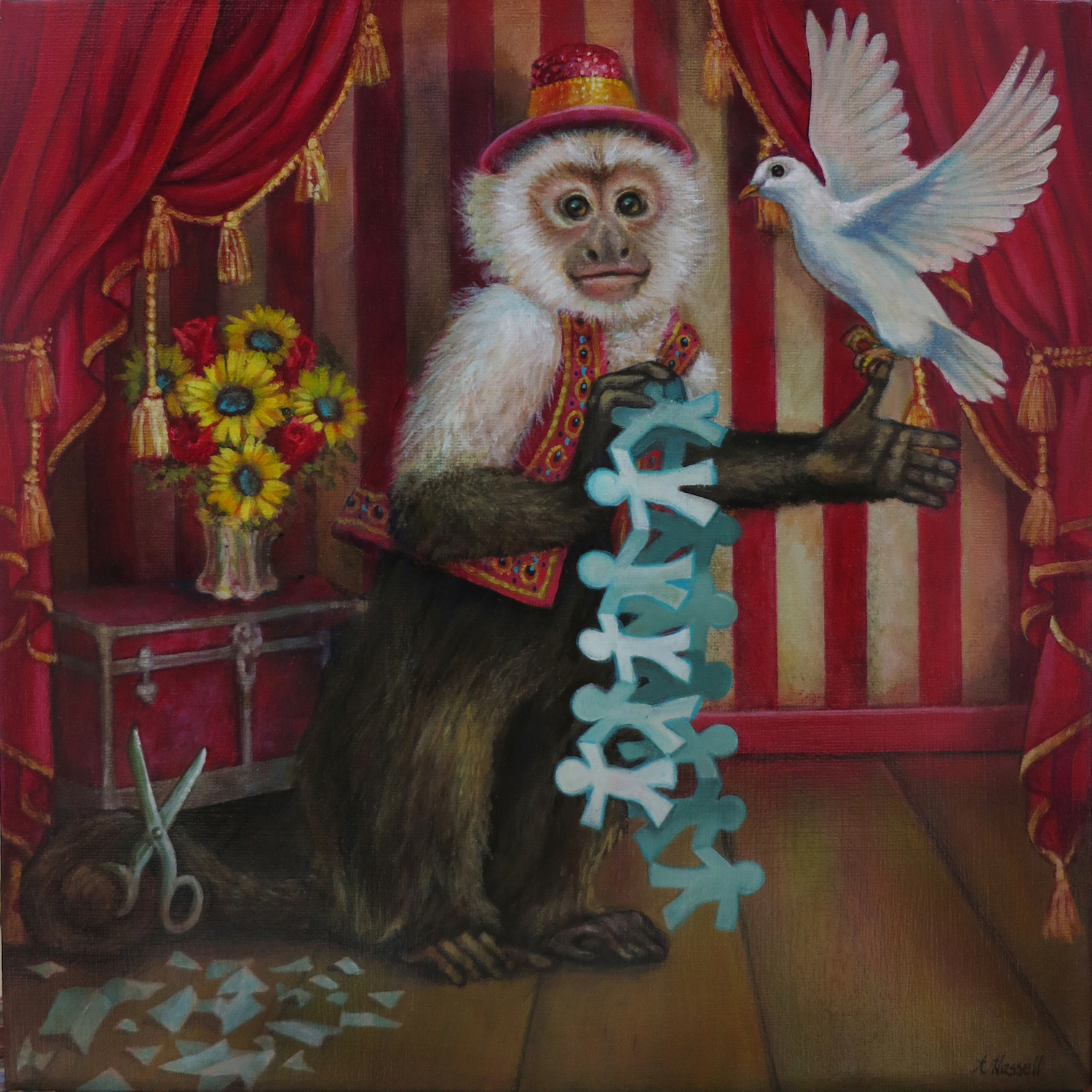 A Magician Artwork by Annette Hassell