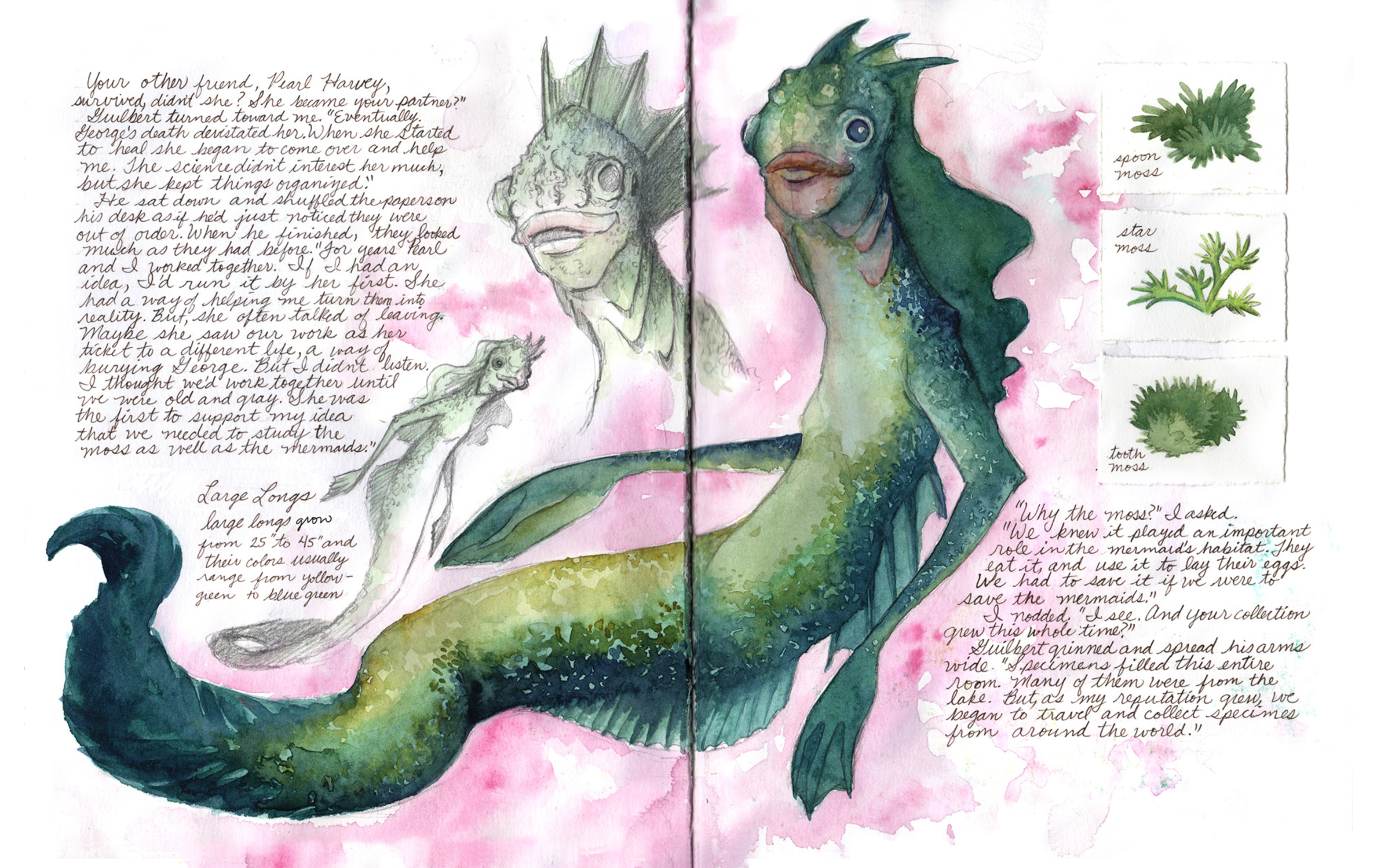 The Marvelous Collection of Alvin Guilbert Page 6-7 Artwork by Manelle Oliphant