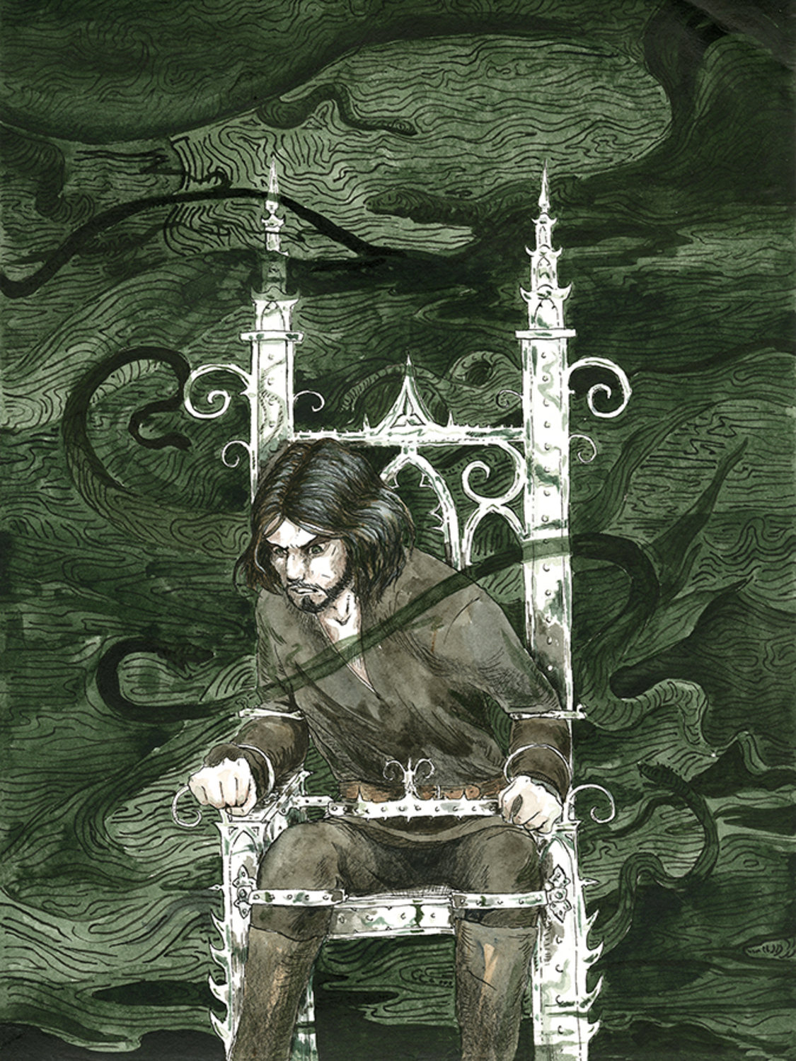 The Silver Chair Artwork by Heather Laurence