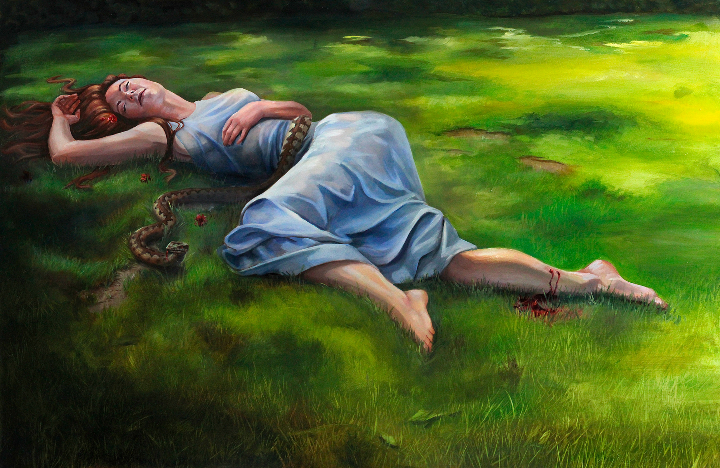 The Tragedy or Eurydice Artwork by Candice Dailey