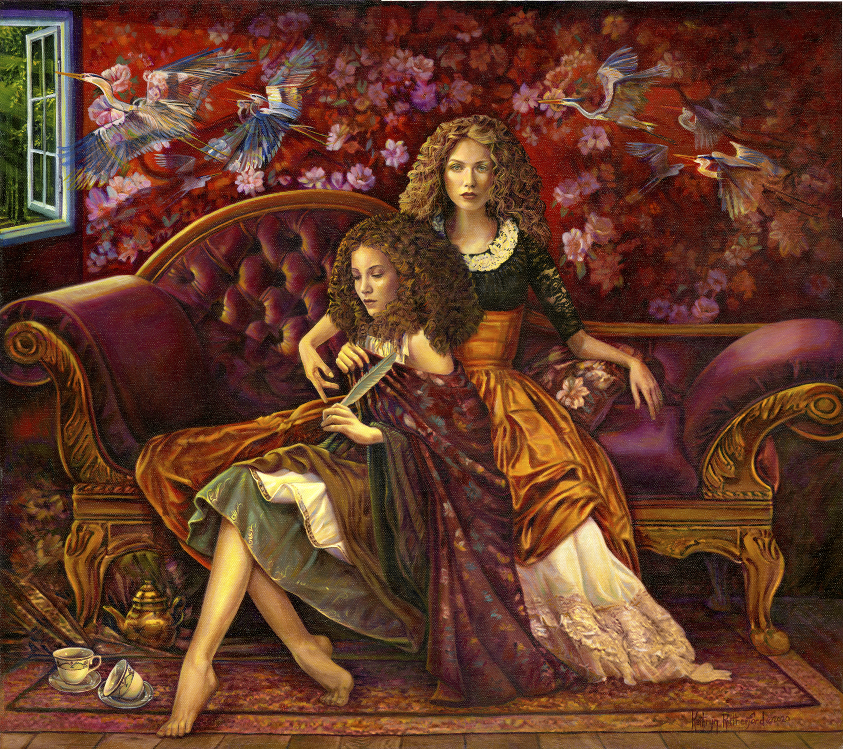 Release Of Innocence Artwork by Kathryn Rutherford