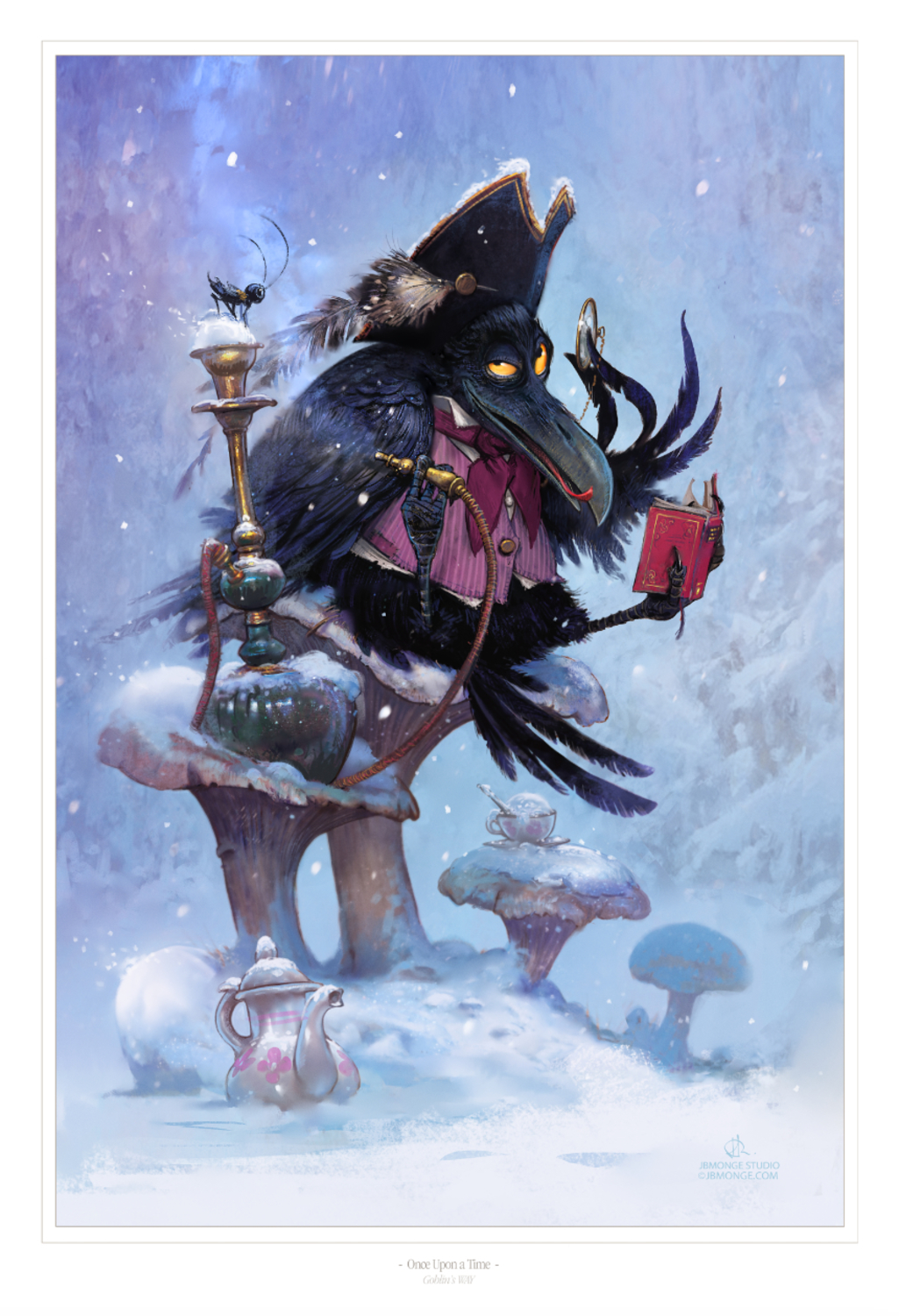 Once Upon A Time Artwork by Jean-Baptiste Monge