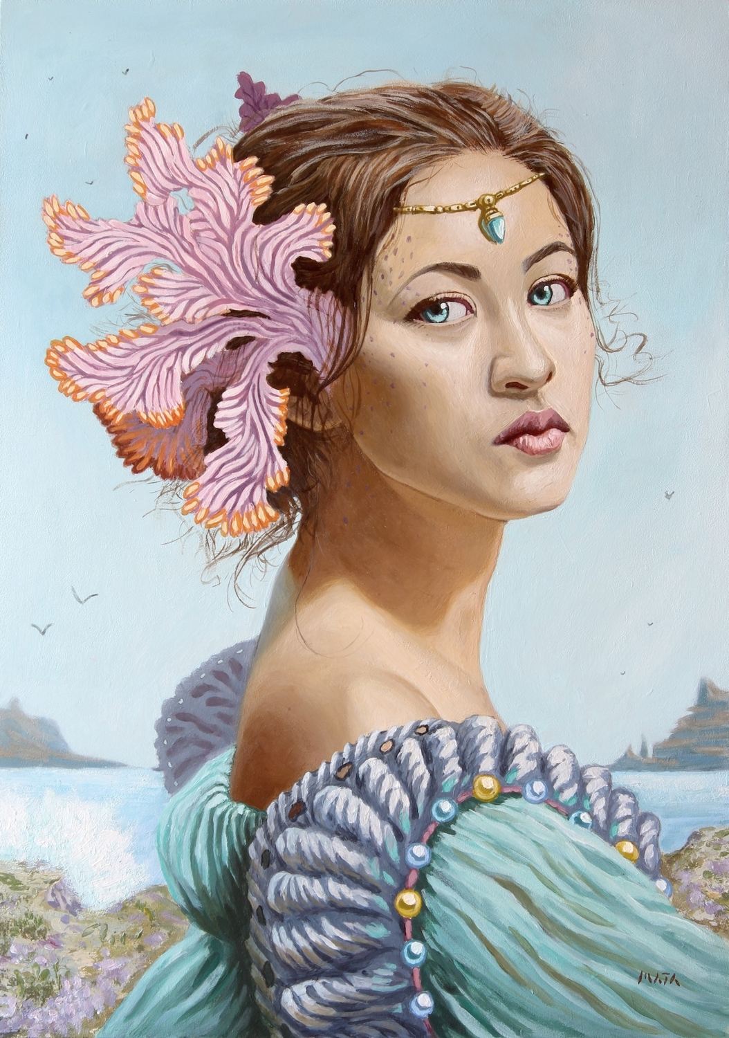 Lady of the Sea Artwork by André Mata
