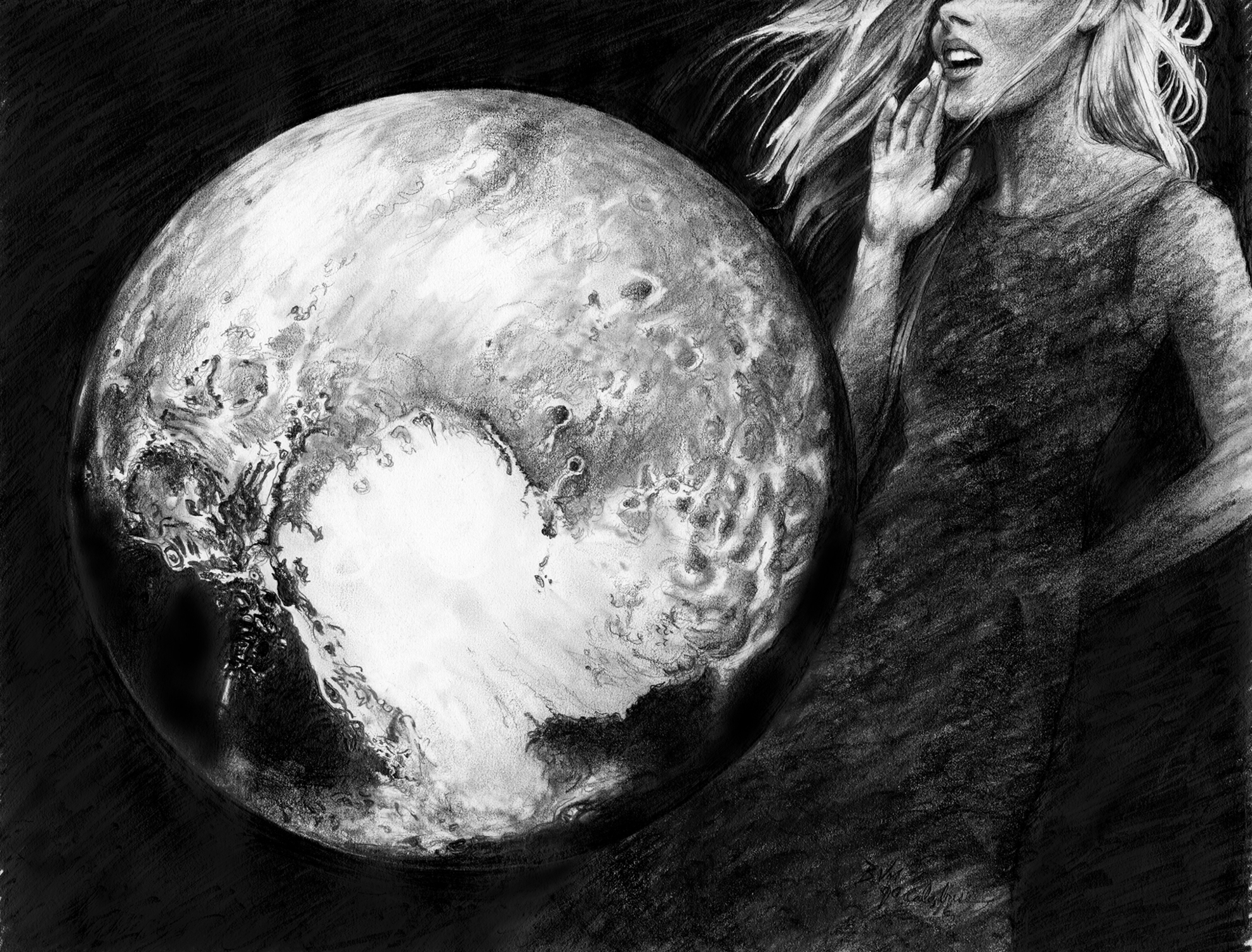 Outer Limit - Pluto Artwork by John Calabrese