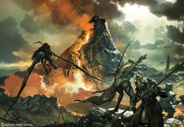 Middle-Earth Quest Artwork by Tomasz  Jedruszek